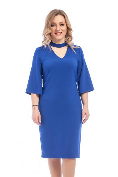 Платье с красивой горловиной, П-0501